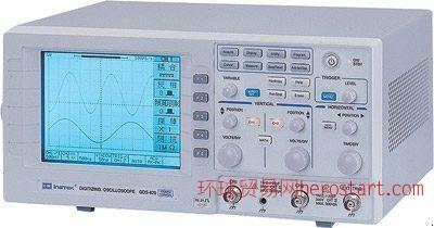 台湾固纬 GDS-820S 150MHz, 单色LCD