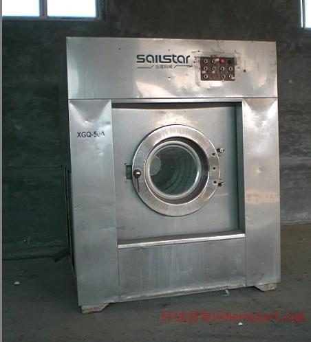 唐山二手酒店替换全套洗衣设备8成新100kg