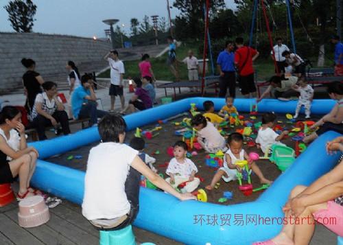 沙池|充气沙池|湖南长沙沙池批发|儿童玩沙池|厂家绝明子沙池