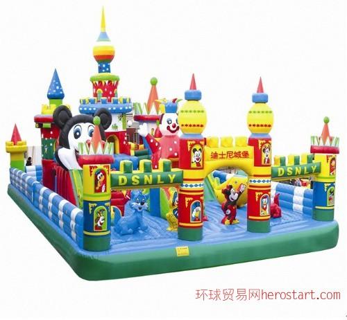 大型充气玩具设计、儿童充气城堡、湖南长沙淘气堡跳跳床