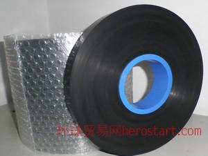 PE黑色导电载带 防静电PCB线路板保护带 黑色导电卷膜PE