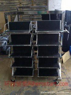东莞防静电挂篮车价格防静电立式插板车 不锈钢周转车