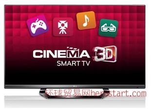 LG 42LM6400-CA 42寸LED液晶电视 3D智能