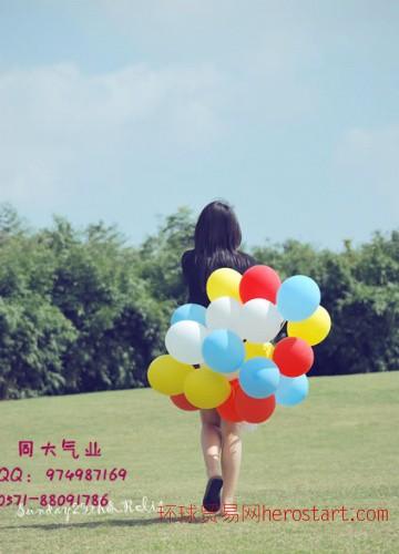 杭州氦气球批发 婚庆氦气球 过生日气球 上门冲氦气服务