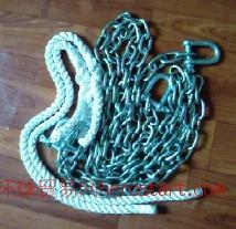 CB T 3155-94带缆辅助索(合成纤维辅助索 链条辅助