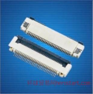 FPC连接器、0.5mm翻盖式连接器22P