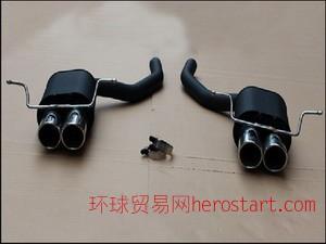 奔驰GLK改装尾段四出F009排气管品牌