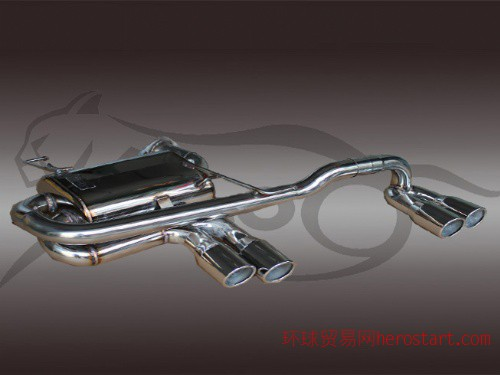 宝马3系320、325、318、E90排气管M3款尾段四出