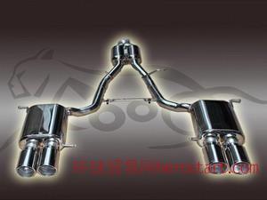 奔驰SLK改装中尾段双鼓四出F009排气管品牌
