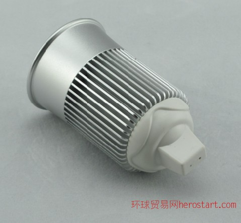 5W大功效LED车铝射灯外壳配件 LED灯杯外壳配件