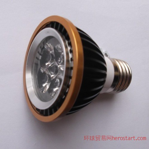 LED大功率灯具配件PAR20灯具配件外壳 连体5*1W灯具