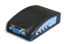 AV转VGA视频转换器, 电视信号转电脑信号