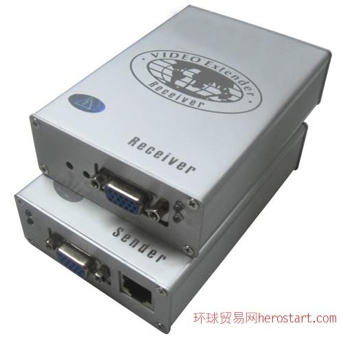 100米VGA双绞线传输器 VGA延长器—高清传输、图像字体清晰!