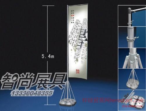 杭州广告注水旗杆出售 注水刀旗支架