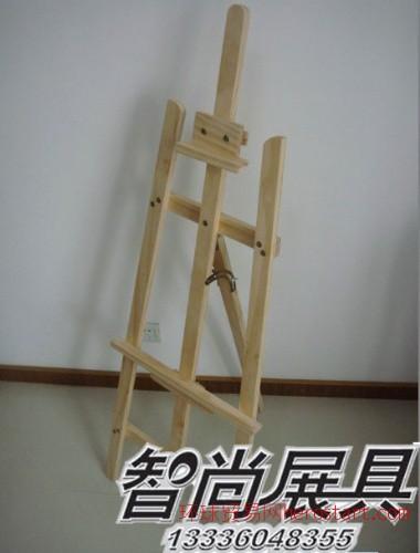 杭州木画架生产批发三角画架供应 木腿油画箱
