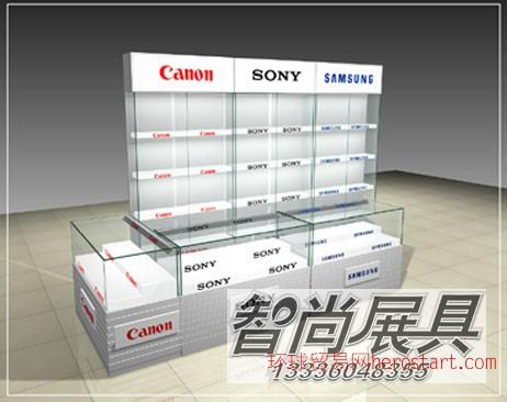 杭州展示柜订做 杭州展柜制作 杭州商业展柜