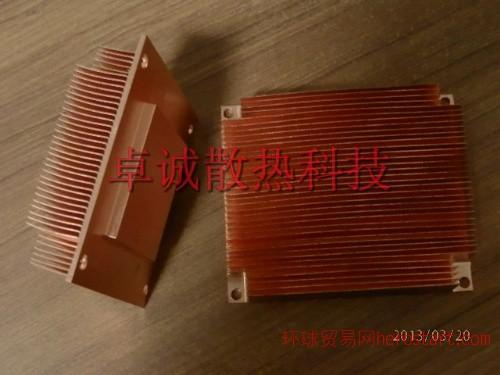 銅型材散熱、器銅散熱片