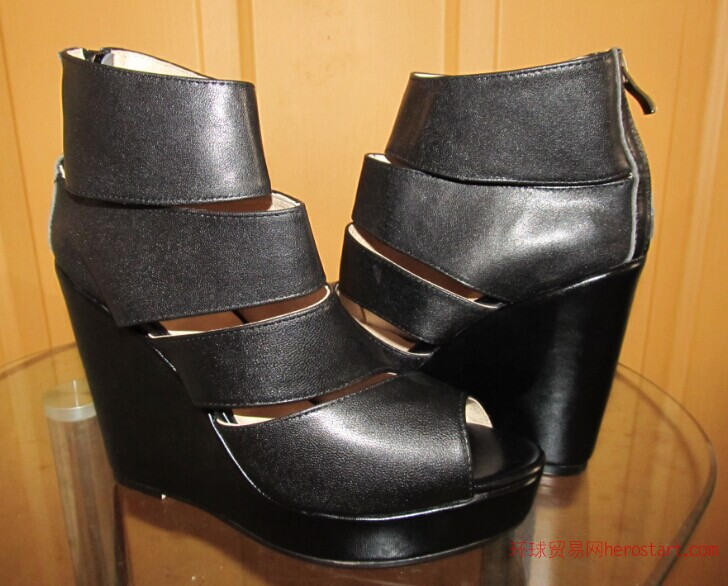 中小型鞋厂小单量小额混批时装外贸女鞋高跟鞋