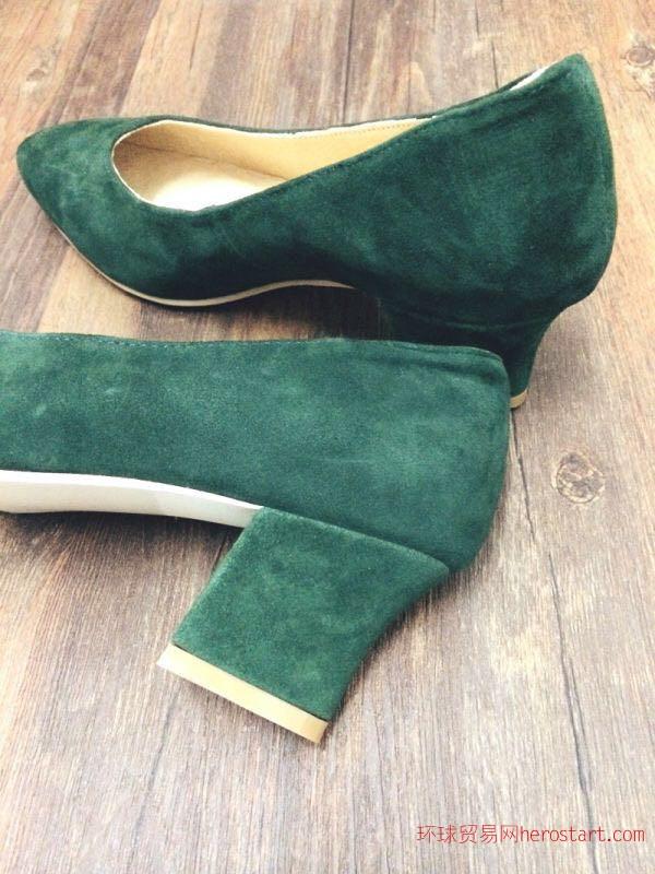 小型鞋厂加工贴标来样定做时装女鞋