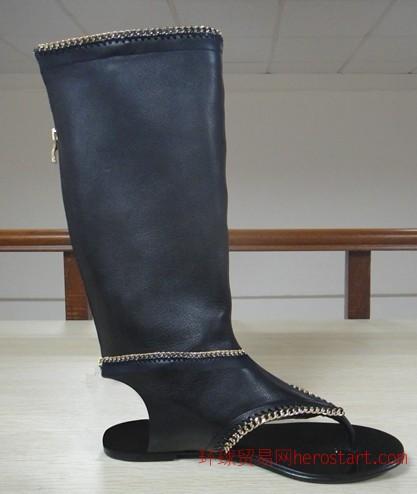 承接来样订做加工批发欧美外贸时尚女鞋
