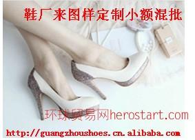 欧美时尚婚鞋模特走秀舞台礼仪时装高鞋厂