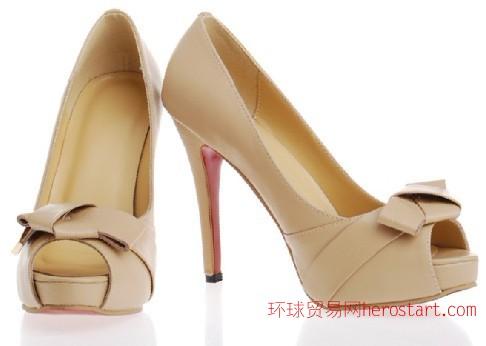时装高跟女鞋厂家,外贸时尚女鞋批发来样来图订做