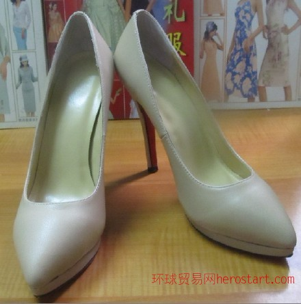 广州鞋厂承接来样来图加工订做时尚女鞋,欧美外贸时装女鞋批发
