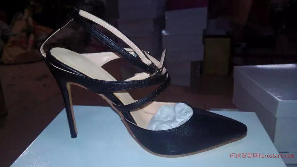 提供图片实样鞋厂加工订做各类时尚欧美时装高跟鞋