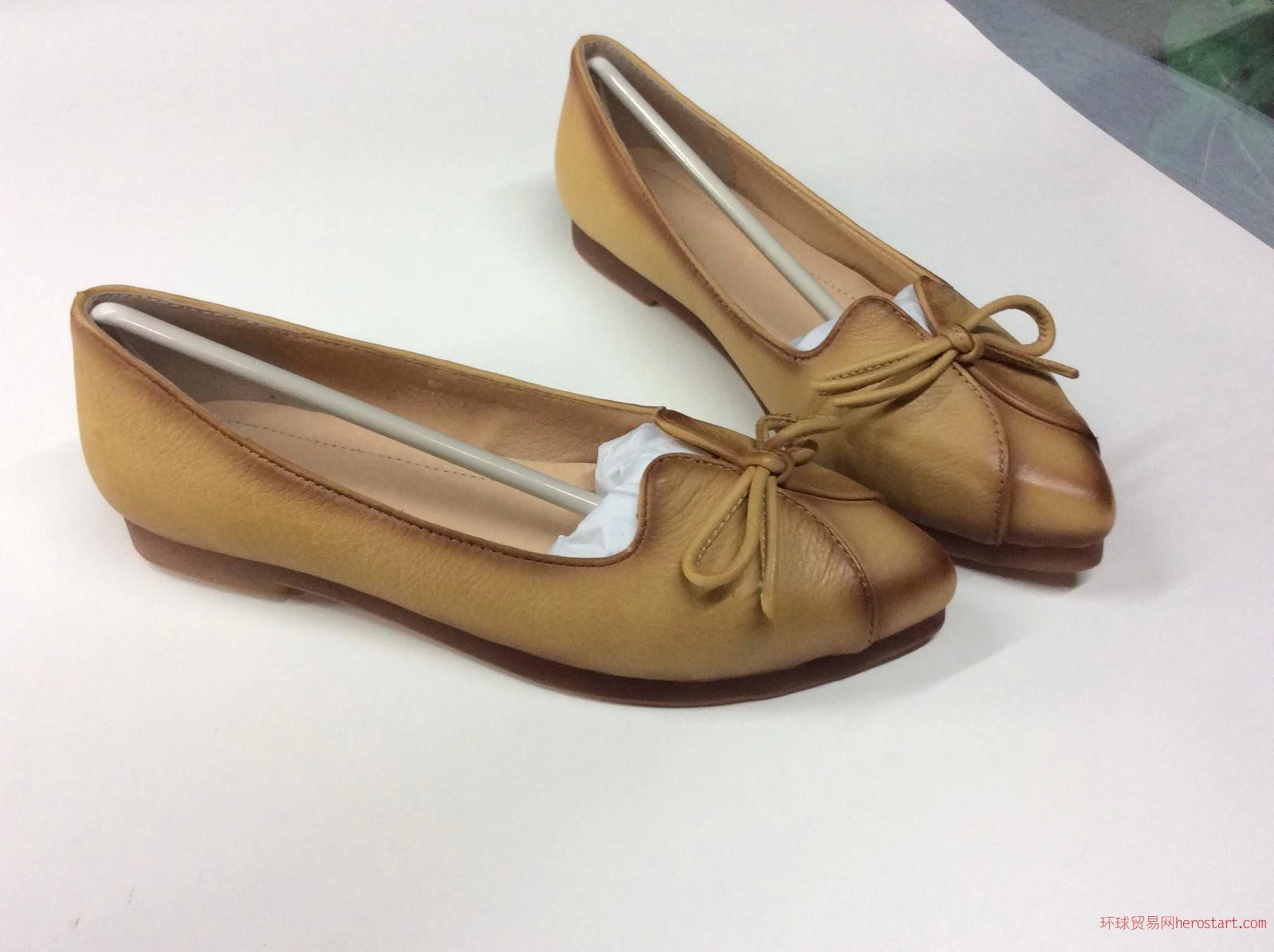 鞋厂加工定制各类款式时尚女皮鞋