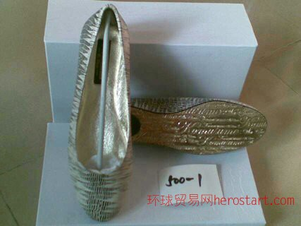 中小型鞋厂承接小单订做模特时装高跟外贸女鞋