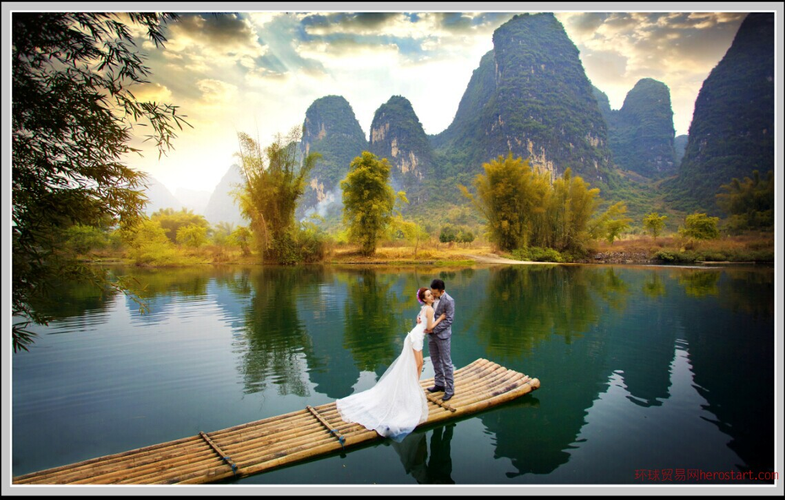 桂林婚纱影楼轰动全城蒂芬妮婚纱礼,圣地娅视觉摄影 反季风暴 钜惠全城