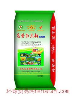 高蛋白豆粕有机肥-发酵豆粕有机肥