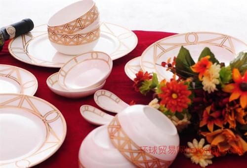 骨质瓷品锅,带盖汤窝,9寸金箔品锅,唐山骨质瓷工厂出品