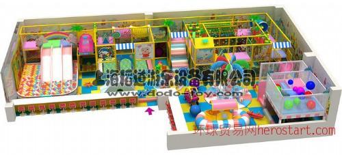 淘气堡室内设计安装 杭州游乐设备 儿童游玩天地