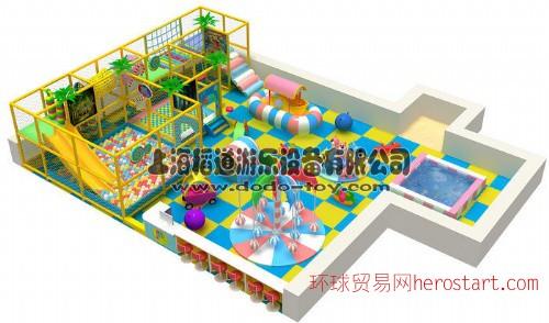 广州儿童幼教玩具 组合滑梯转马 上海淘气堡