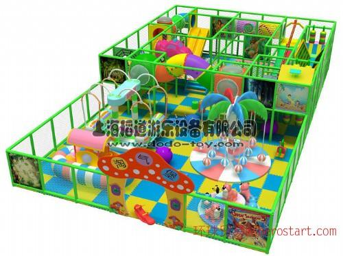 杭州室内亲子乐园 组合滑梯 上海淘气堡设备