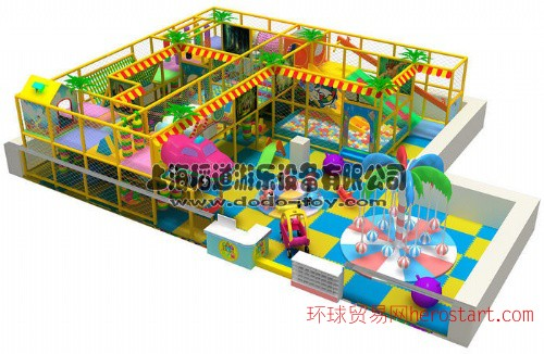 儿童室内乐园 杭州新型淘气堡 组合滑梯
