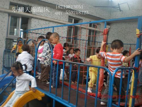 工程塑料滑梯 实木玩具 儿童组合滑梯