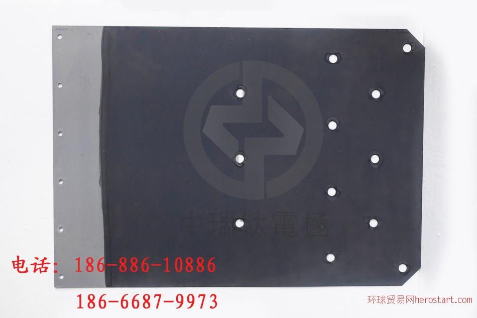 钛阳极板用于蚀刻液回收铜