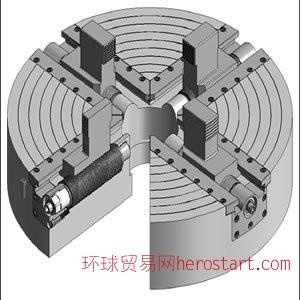 重型卡盘 4爪机械卡盘 液压卡盘 机械增力卡盘