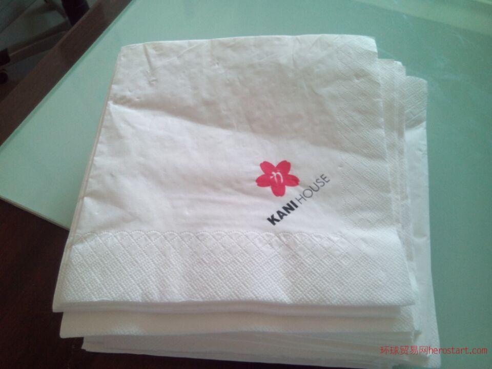 供应汉堡店餐巾纸西餐厅餐巾纸披萨店餐巾纸