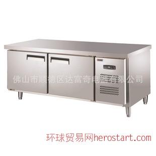 睿厨TJ0.3L2,1.5米不锈钢工作台.冷柜,厨房设备