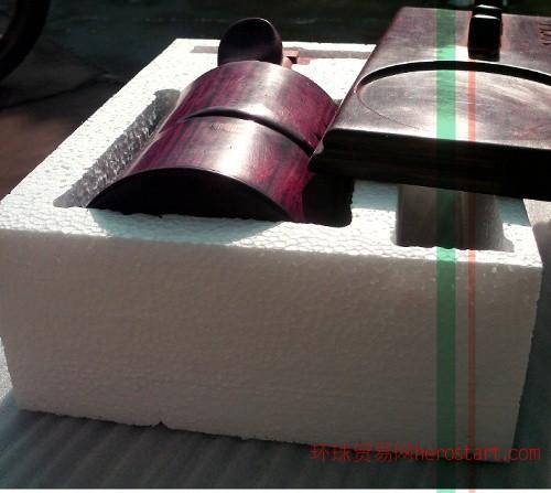 红木工艺品EPS泡沫包装应用