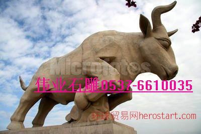 石雕雕塑马牛羊十二生肖牌坊石桥石狮子