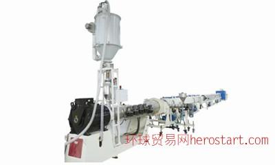 金纬HDPE供排水管、燃气管节能高速挤出生产线
