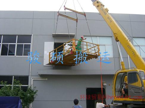 设备高空吊装上楼