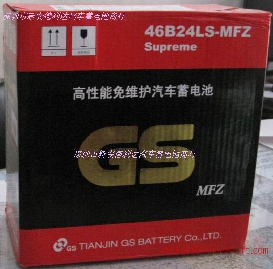 统一电池G46B24Ls长城炫丽汽车用蓄电池