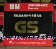 长城嘉誉汽车专用蓄电池统一电池GS55D26R
