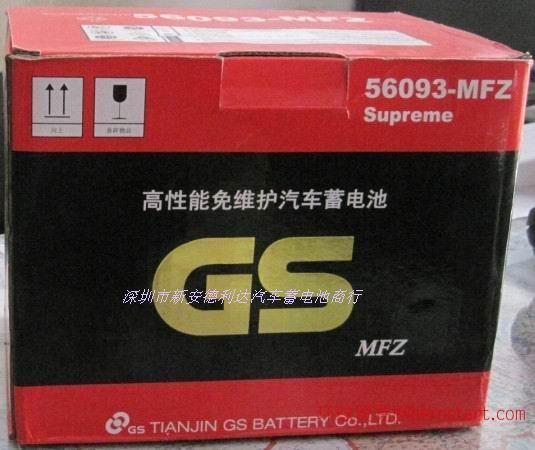 奇瑞A3汽车专用蓄电池