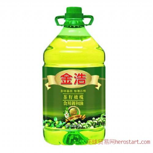 金浩茶油 5L 纯茶籽油